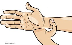 Acupressure Point for Nausea Relief